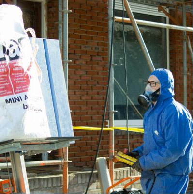asbest saneren DAV IBEX Ascert
